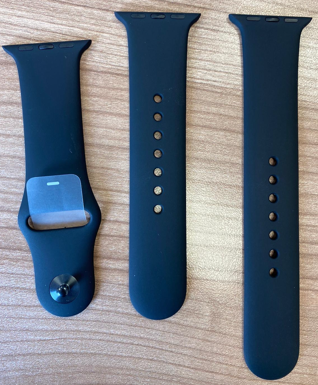 Apple Watch Sport Band Strap Black 38 40mm – S M & M L
