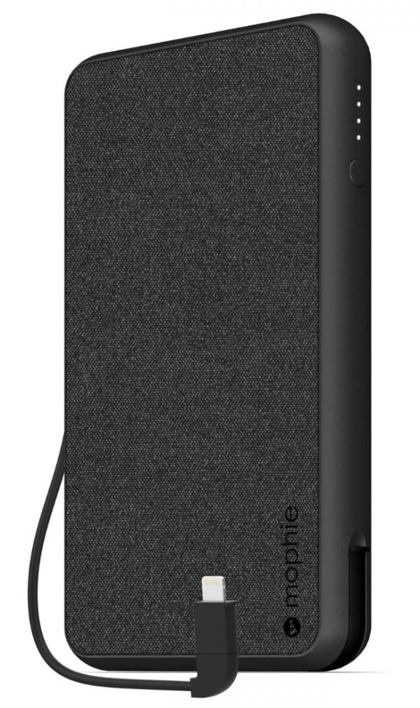 Mophie 10K PowerStation Plus X-Large Portable Charger - Black