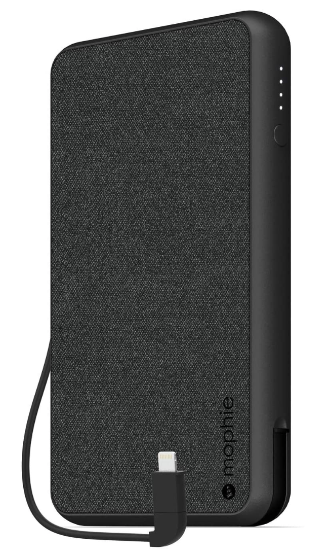Mophie 10K PowerStation Plus X-Large Portable Charger - Black